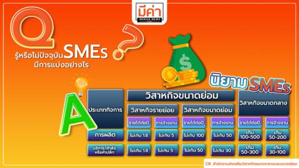 นิยาม SMEs