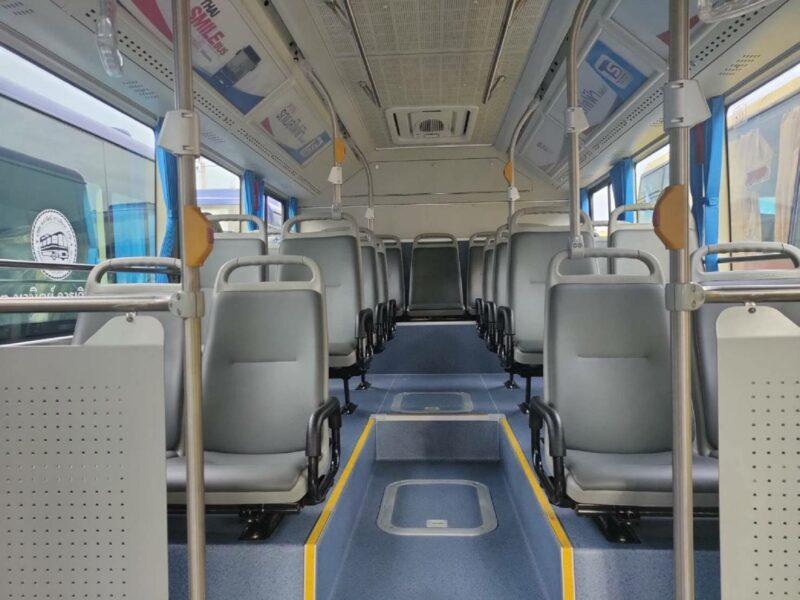 """ไทยสมายด์บัส เตรียมเปิดใช้ """"E-Bus"""" รถบัสพลังงานไฟฟ้า 10 เส้นทาง เดือน ต.ค."""